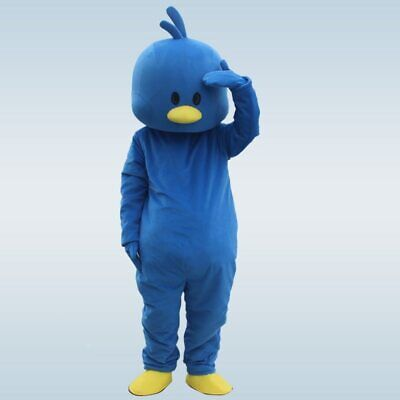 Blue Duck Mascot Costume Cosplay Outfit Adults Animal Party Fancy Dress Parade](Mascot Outfit)