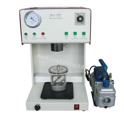 Professional Dental Vacuum Mixer Machine Outer Pump Mixing Vibrating Equipment