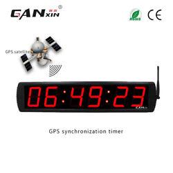[GANXIN] Large Digital Wall Clock Led GPS Receiver Timer Morden GPS Clock