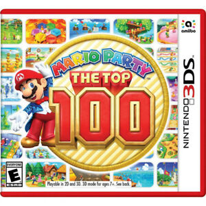 Mario Party - The Top 100 - Nintendo 3DS - New