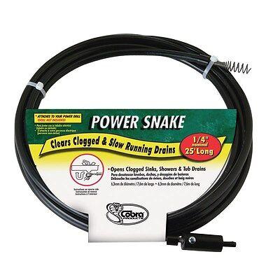 Power Snake Drain Auger 14 X 15