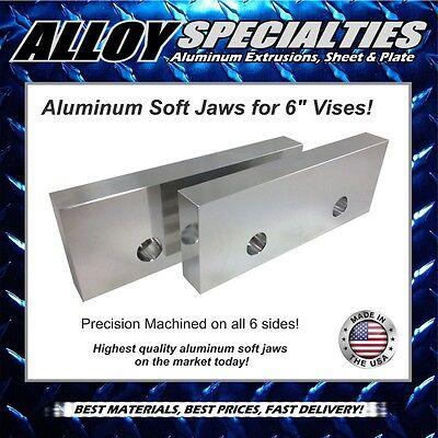 1 X 3 X 8 Fully Machined Premium Aluminum Soft Jaws For 6 Kurt Vise