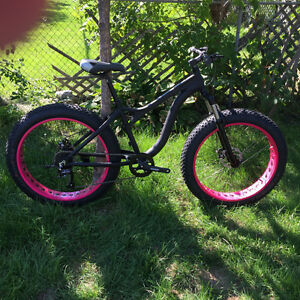 7 speeds Aluminum Fat Bike Shimano components Disc Brakes #3