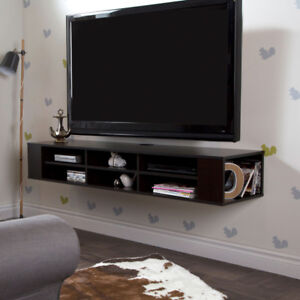 "South Shore City Life 66"" Wide Wall Mounted Media Console​"