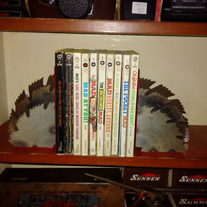 Saw Blade Bookends
