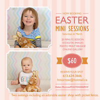 Now booking Easter Mini Sessions