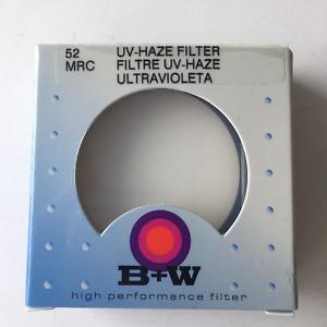 D-SLR Camera UV Haze Filter