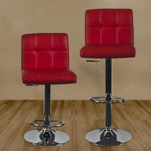 (6) BRAND NEW Leather Barstool - Retail $150 each