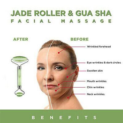 Jade Face Massage Roller Facial Massager Anti Ageing Beauty Eyes Massager Tools