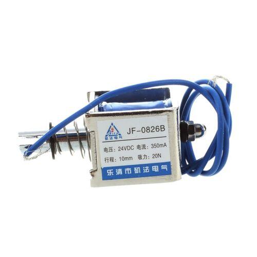 3x(sodial (R) Dc 24v 350ma Push-pull-typ Oeffnen Rahmen Magnetspule Elektroma So