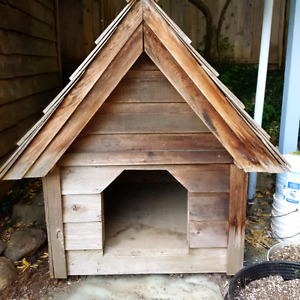Custom Wood Dog House