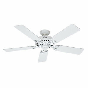 "HUNTER CEILING FAN, 52"", HIGH END FAN, BNIB, NEW SEALED BOX   PL"