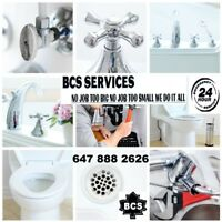 FAUCET AND TOILET INSTALL PLUMBING SERVICES