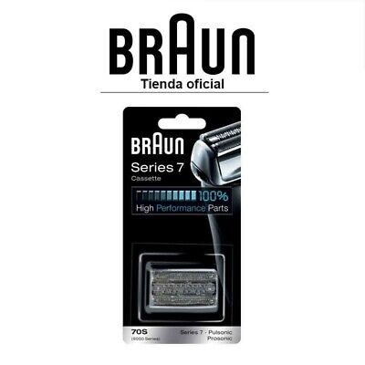 Recambio para afeitadora eléctrica Braun 70S - Para Series 7 y Pulsonic,...