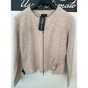 Armani jeans giacca donna rosa