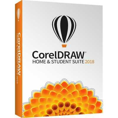 Corel Draw Home & Student Suite 2018 - DEUTSCHE BOX