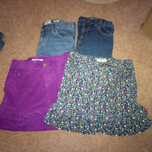 Lot of Girls Size 8 Bottoms (Osh Kosh); 4 Items in Total