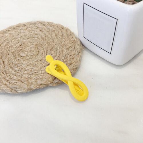 1PC Geometric Hollow Acrylic Hair Clip Teardrop Rectangle Hairpin Barrette
