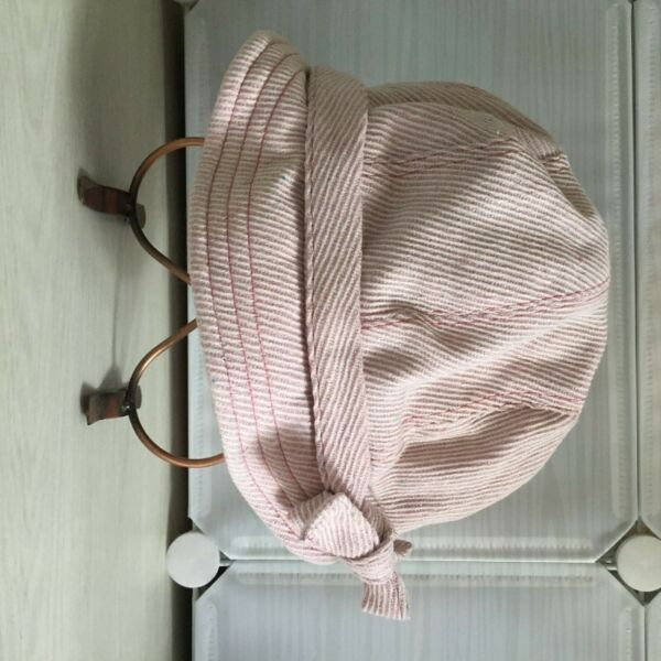 [ BRAND NEW ] Ladies Sailor Cap - Baby Pink Color (Glitter)