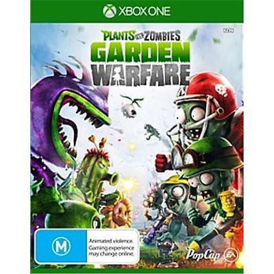 Plants vs Zombies Garden Warfare Microsoft XBox One Games New Sealed