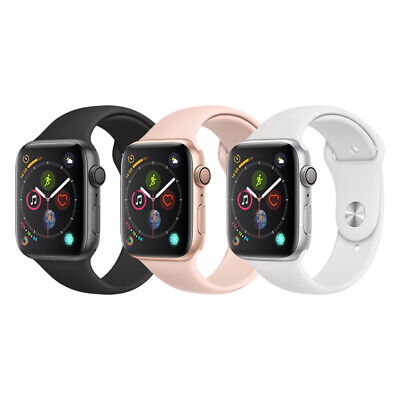 Apple Watch Series 4 Aluminum | 40mm 44mm | GPS + Cellular | Gray/Silver/Gold