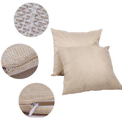 50pcs 20 X 20 Sublimation Blank Pillow Case Cushion Cover For Heat Press Gift