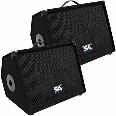 """Seismic Audio Pair 10"""" Floor Monitors Studio/Stage New PA/DJ Speakers for sale  Shipping to Canada"""