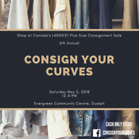 Canada's Largest Plus Size Consignment Sale!