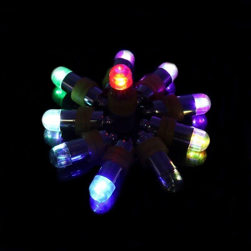 5Pcs Party Lights LED Mini For Lanterns Balloons Floral Wedding Glass Vases