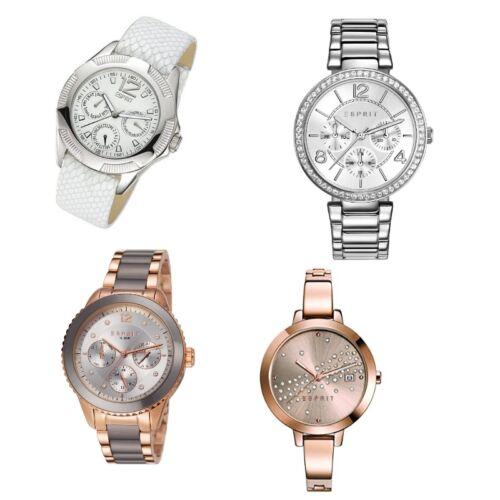 Esprit Damenuhr Uhr gold rose silber Zirkonia ES106712005 ES108482002 ES10898200