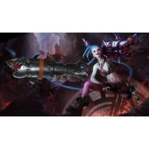 LOL League Of Legends JINX rocket gun Cosplay accessories 220056