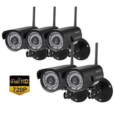5 X Led Wireless Ip P2p Camera Ir Night Vision Wifi Network Ie8 0 Waterproof Oy
