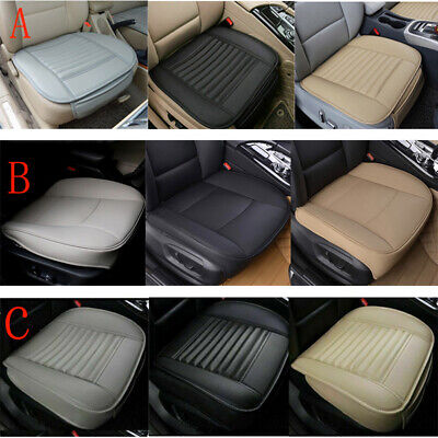Auto Car PU Leather Front Seat Cover Half/Full Surround Chair Cushion Mat Pad -