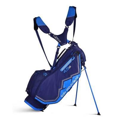 New 2019 Sun Mountain Women's 4.5 LS Golf Stand Bag (Navy / Cobalt / Silver)