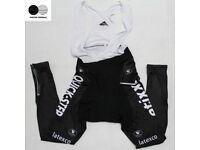 Cycling Bib Pants Long Sleeve Fleece Thermal size L