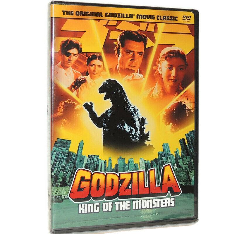 Godzilla King Of The Monsters DVD Movie 1956 Original B W Starring Raymond Burr - $12.77