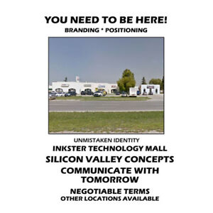 AVAILABLE SPACE FOR TECHNOLOGIES AND MEDICAL SPACE