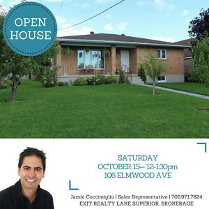 OPEN HOUSE! Saturday Oct 15th, 12-1:30 at 106 Elmwood Ave
