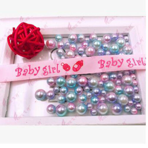 Its A Boy//Girl Polyester Ribbon Baby Shower Birthday Party Decor Gift Wrap LG