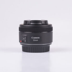 Canon EF 50mm f/1.8 STM full-frame EF USM lens