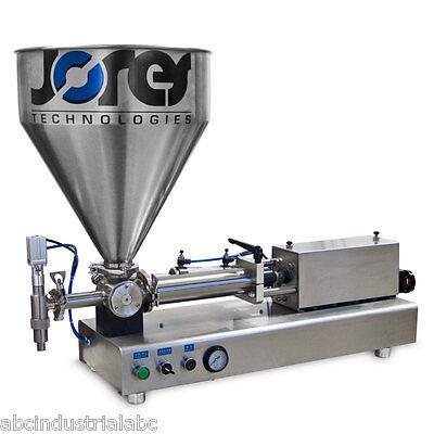 High Viscosity Filling Machine Manual Adjustable 200-1000ml Bottle Filler