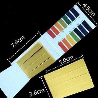 Ph Meters Analyzer 80 Strips Extensive Ph Indicator Paper Tester Full Range 1-14