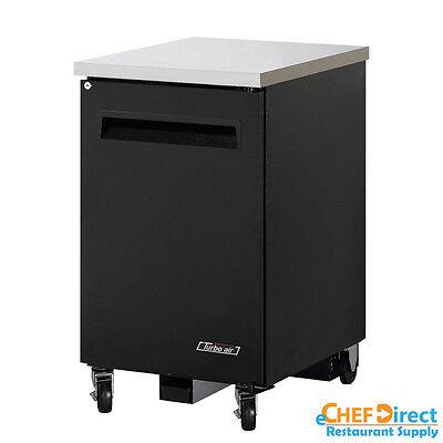 Turbo Air Tbb-1sb-n6 24 Single Solid Door Back Bar Cooler