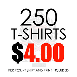 BEST PRICED T-SHIRT PRINTING IN THE CITY GUARANTEED!