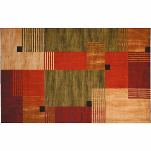 Two Pieces Mohawk Home Multi Color Rug