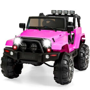 Big Sale !!!Kids Trucks with Leather,4wd,12v Red/Pink/Blue-299$