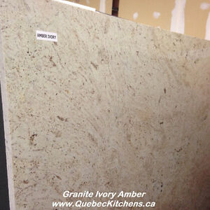 Amber Ivory Granite: A Soft Caramel Beigey Brown @ QK