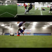 Soccer Indoor 1/4 field best rates quarter field $50! After 10pm