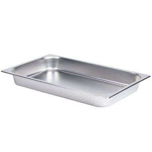 """Full Size SS Steam Table Hotel Pan - 2.5"""" Deep FOR SALE"""