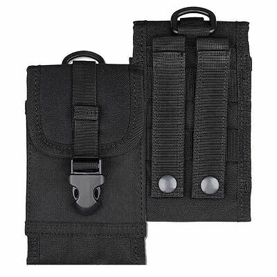 IPHONE Military Molle Cell Phone Pouch Case Belt Bag Smartphone BEST (Best Smartphone Not Iphone)
